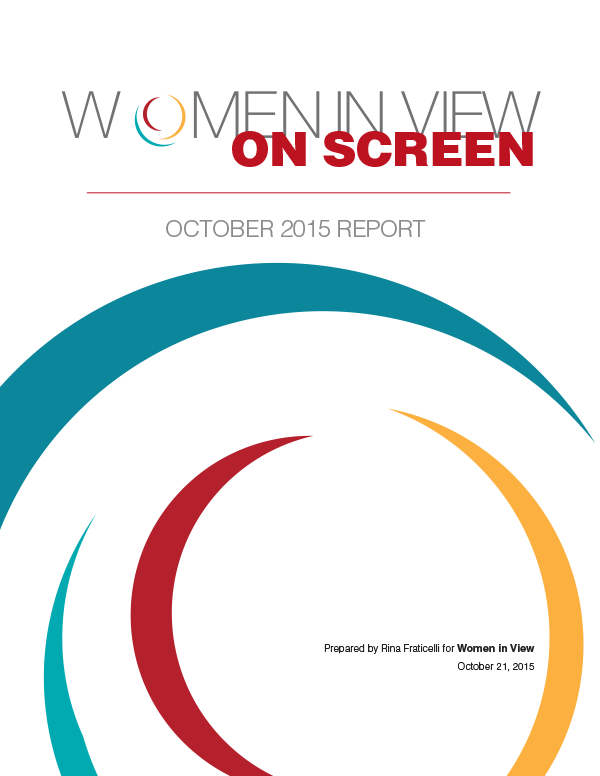 Women in View 2015 report cover